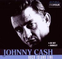 Cover Johnny Cash - Rock Island Line [4 CD Set]